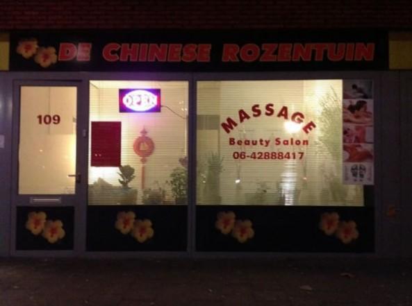 De Chinese Rozentuin Chinese Massage