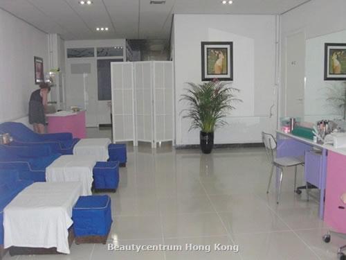 de receptie Beautysalon HongKong