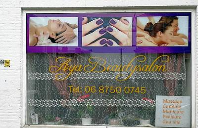 Beautysalon in Den Haag