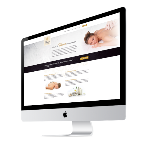 massagesalon website laten maken, ontwerpen